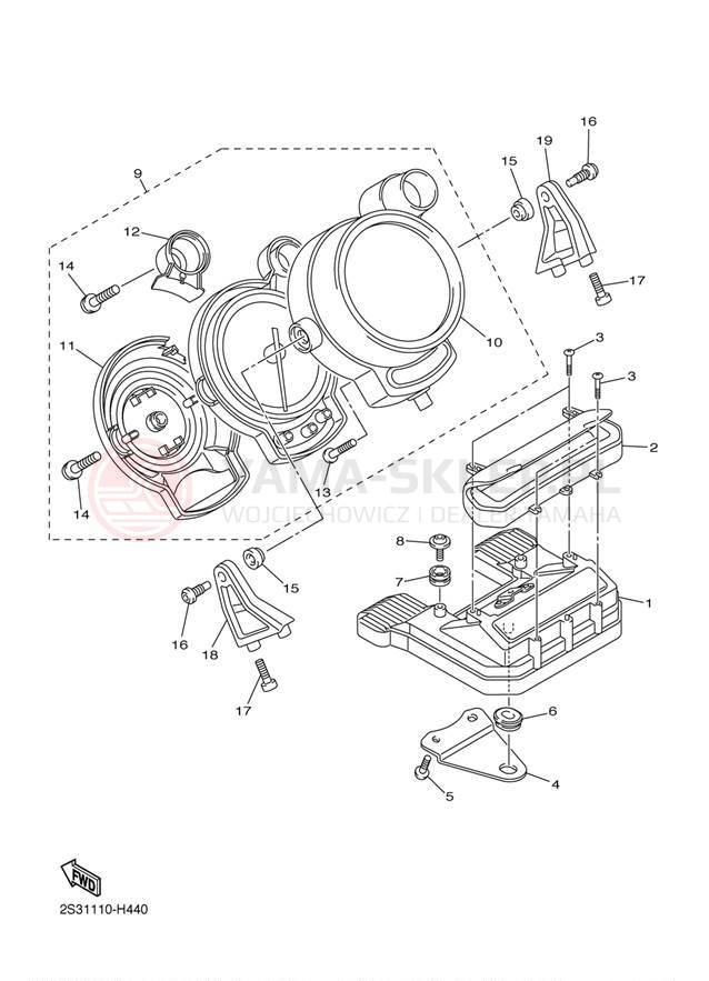 Wheeler Wiring Diagram Yamaha Vf on